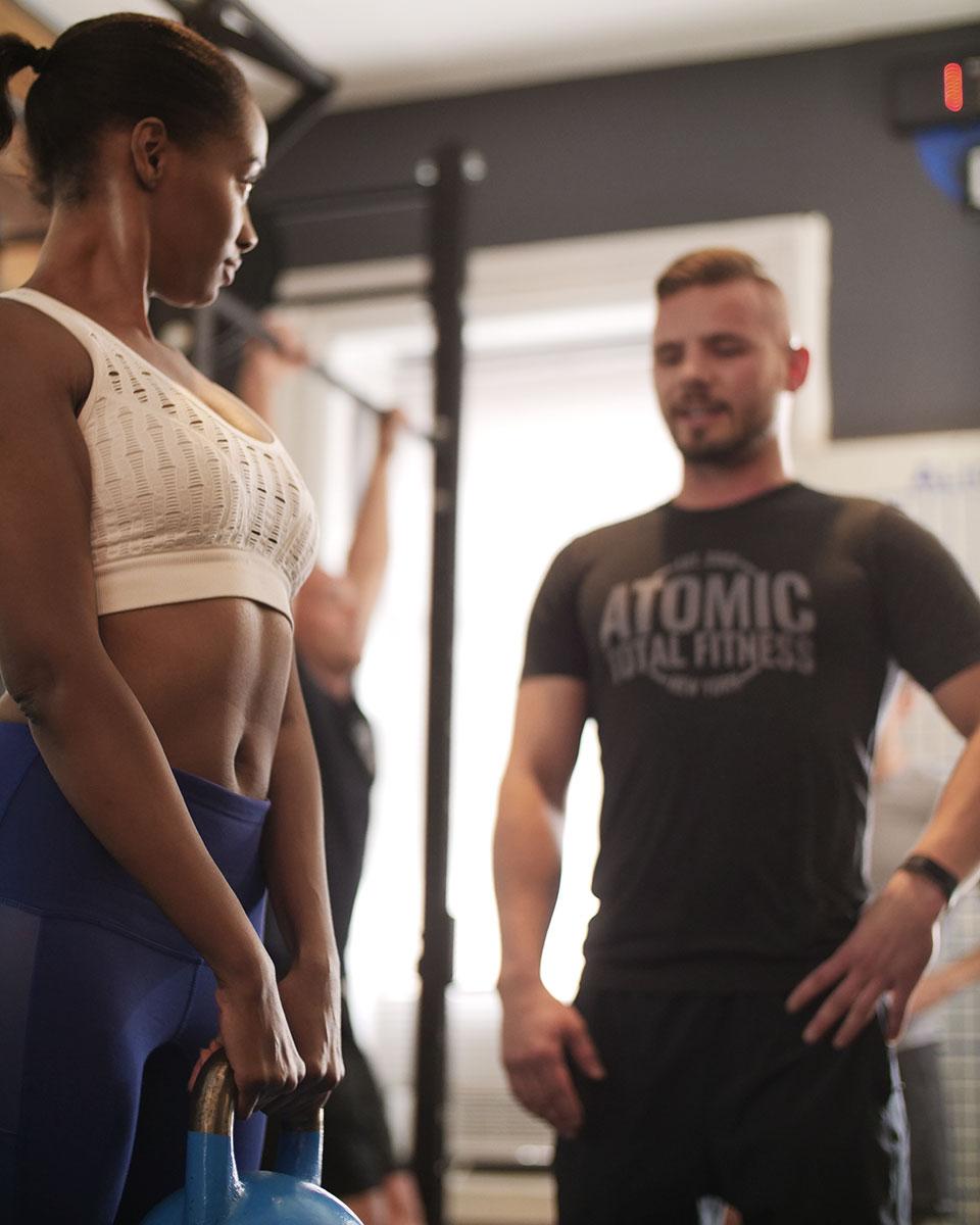 ATOMIC Matt Giving Instructions